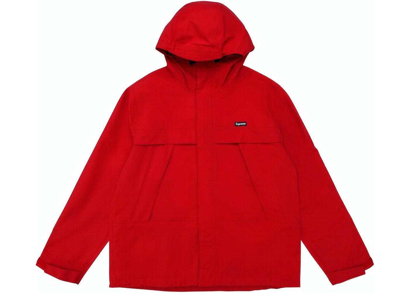 Supreme Dog Taped Seam Jacket Jacket Red