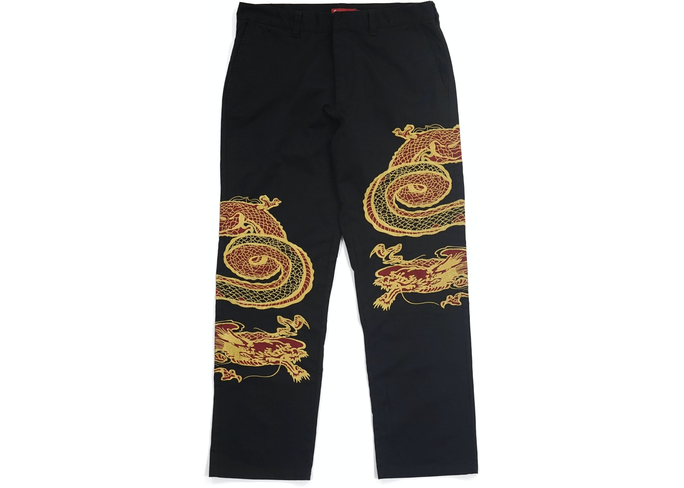 f190bbe50777 Supreme Dragon Work Pant Black. Dragon Work