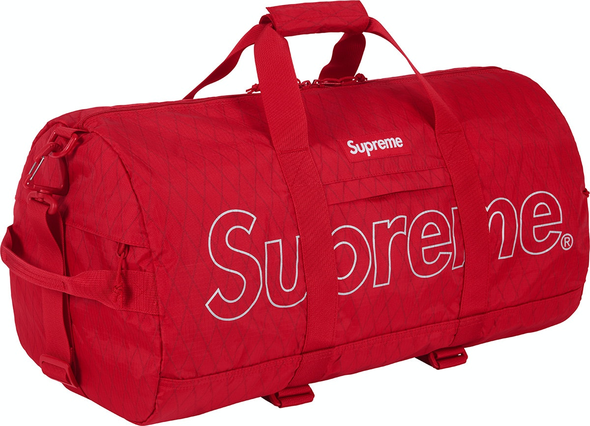 Supreme Duffle Bag (FW18) Red