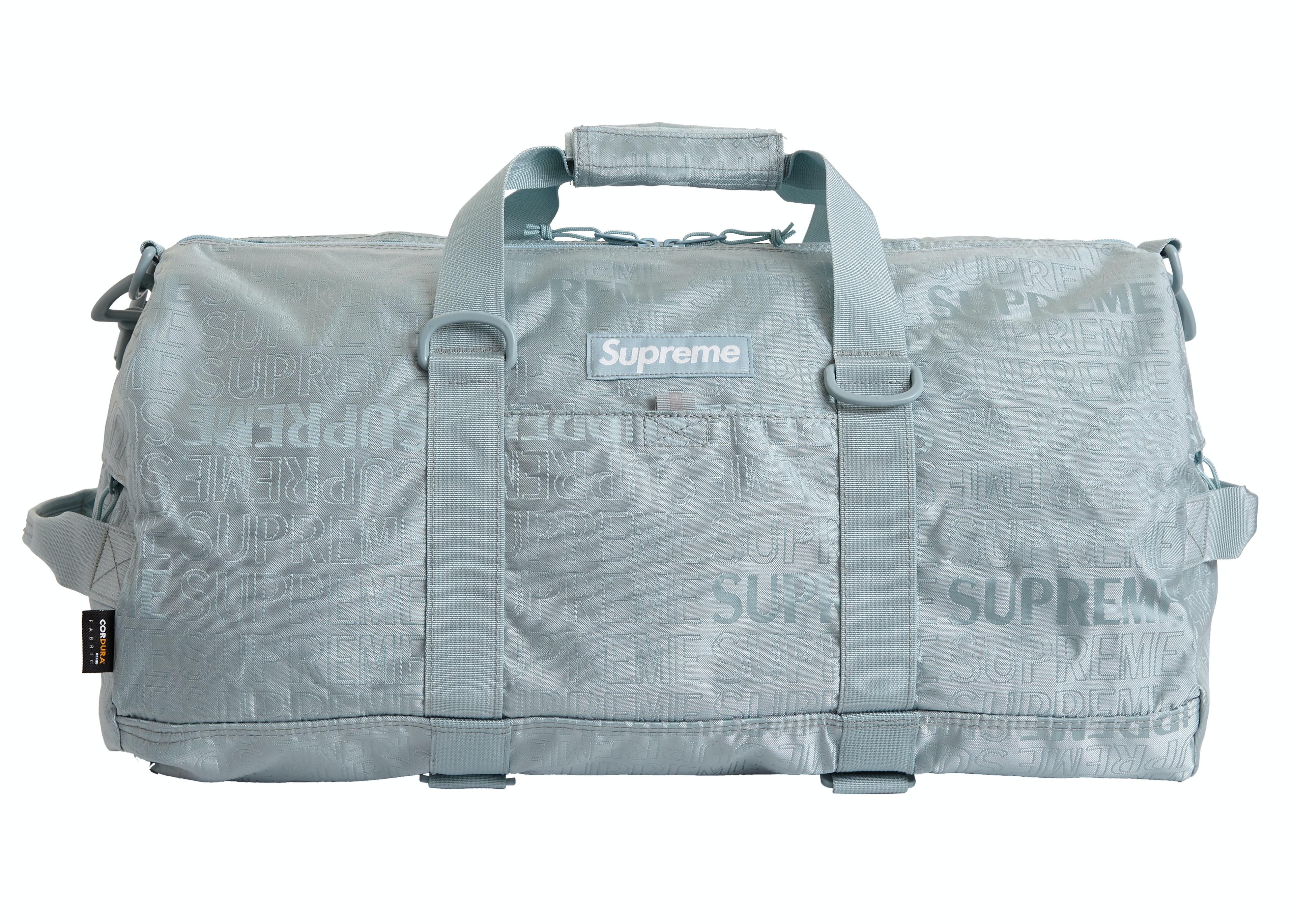 Supreme Duffle Bag (SS19) Light Blue