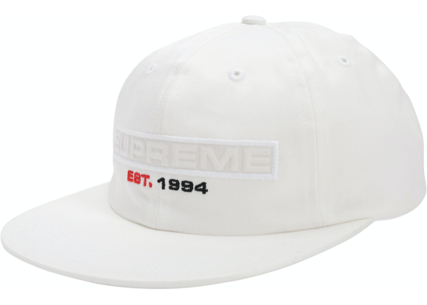 058a1c6c Sell. or Ask. View All Bids. Supreme Embossed Logo 6-Panel White