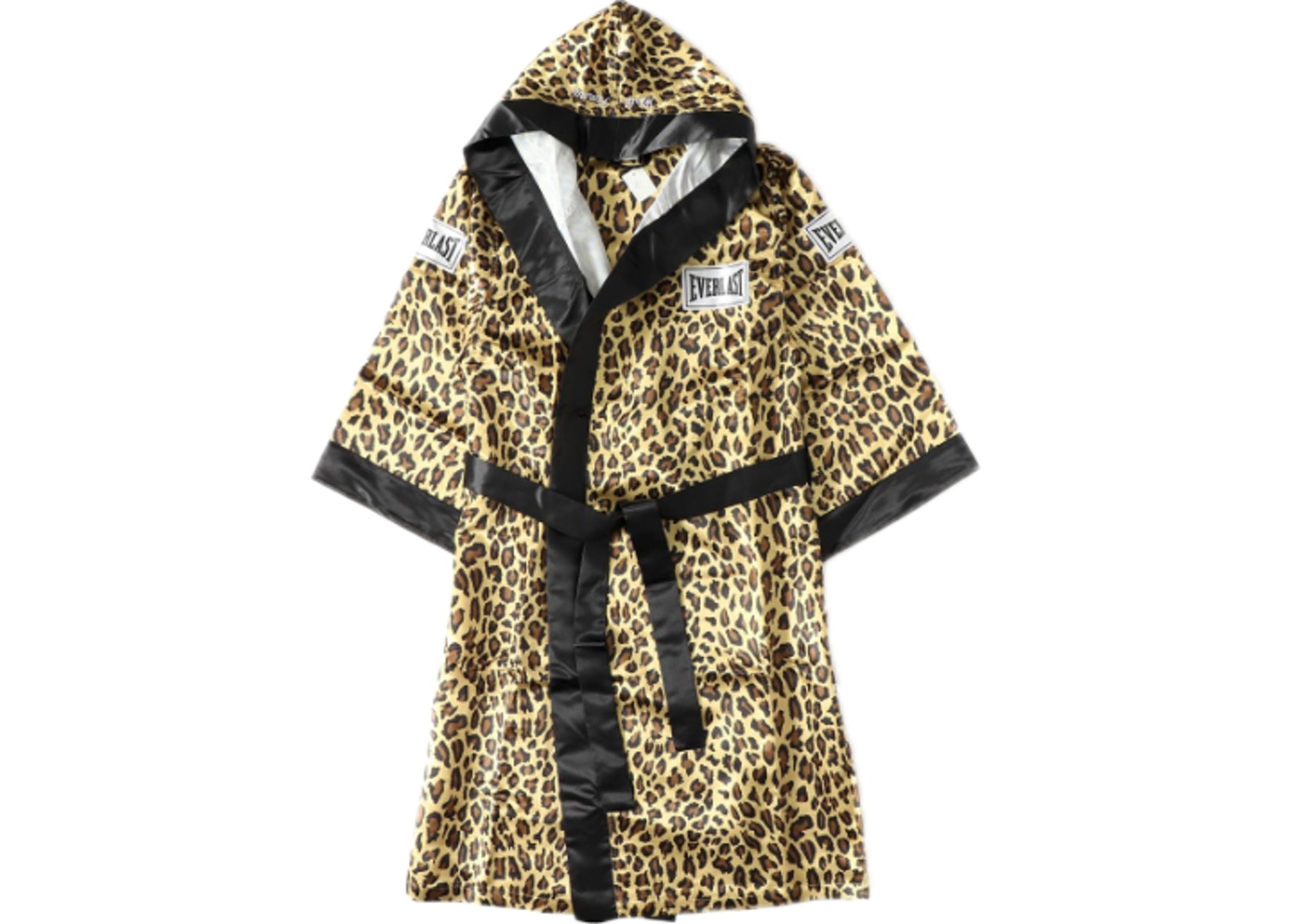 Supreme Everlast Satin Hooded Boxing Robe Leopard - FW17 53e518abc122