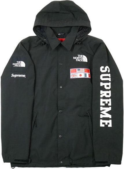 Supreme The North Face Expedition Coaches Jacket Black Ss14