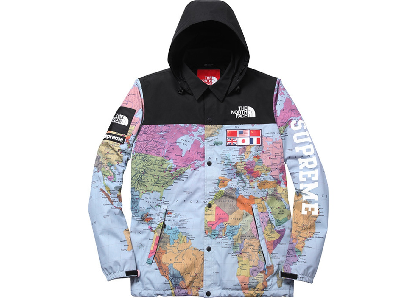 Supreme the north face expedition coaches jacket multi gumiabroncs Gallery