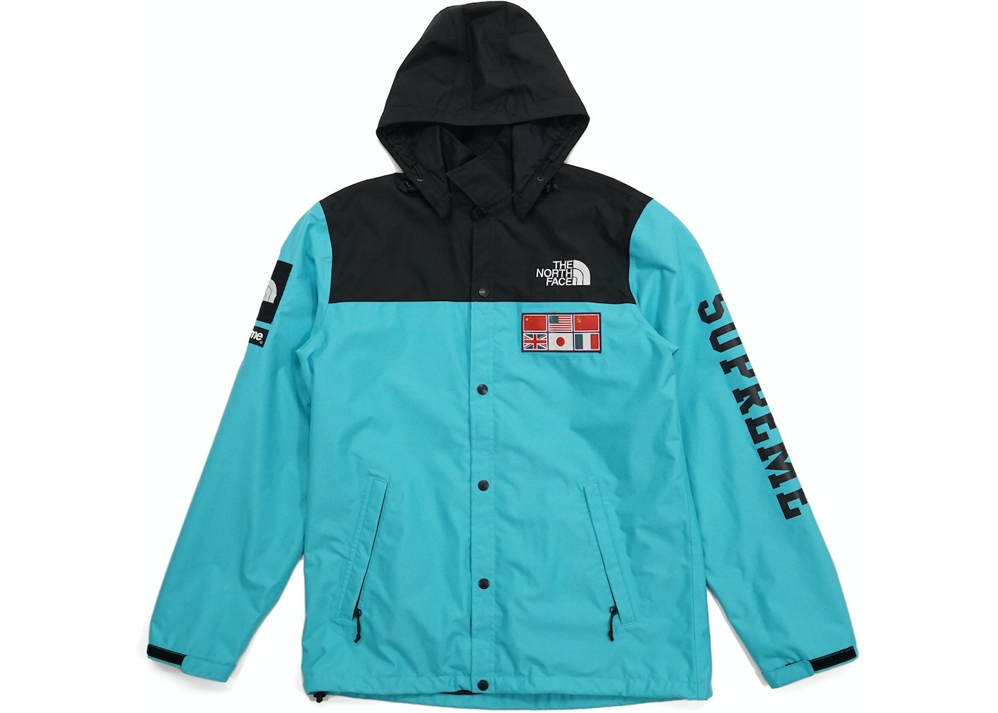 c4b0c155f Supreme The North Face Expedition Coaches Jacket Teal
