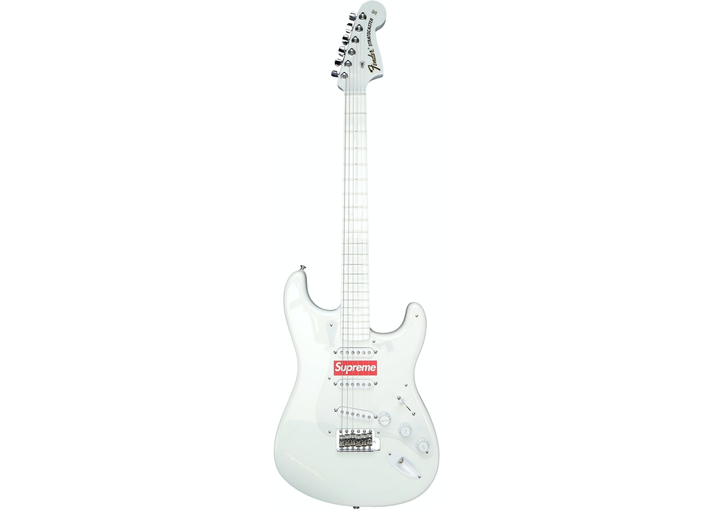 Fender Stratocaster Price >> Supreme Fender Stratocaster White