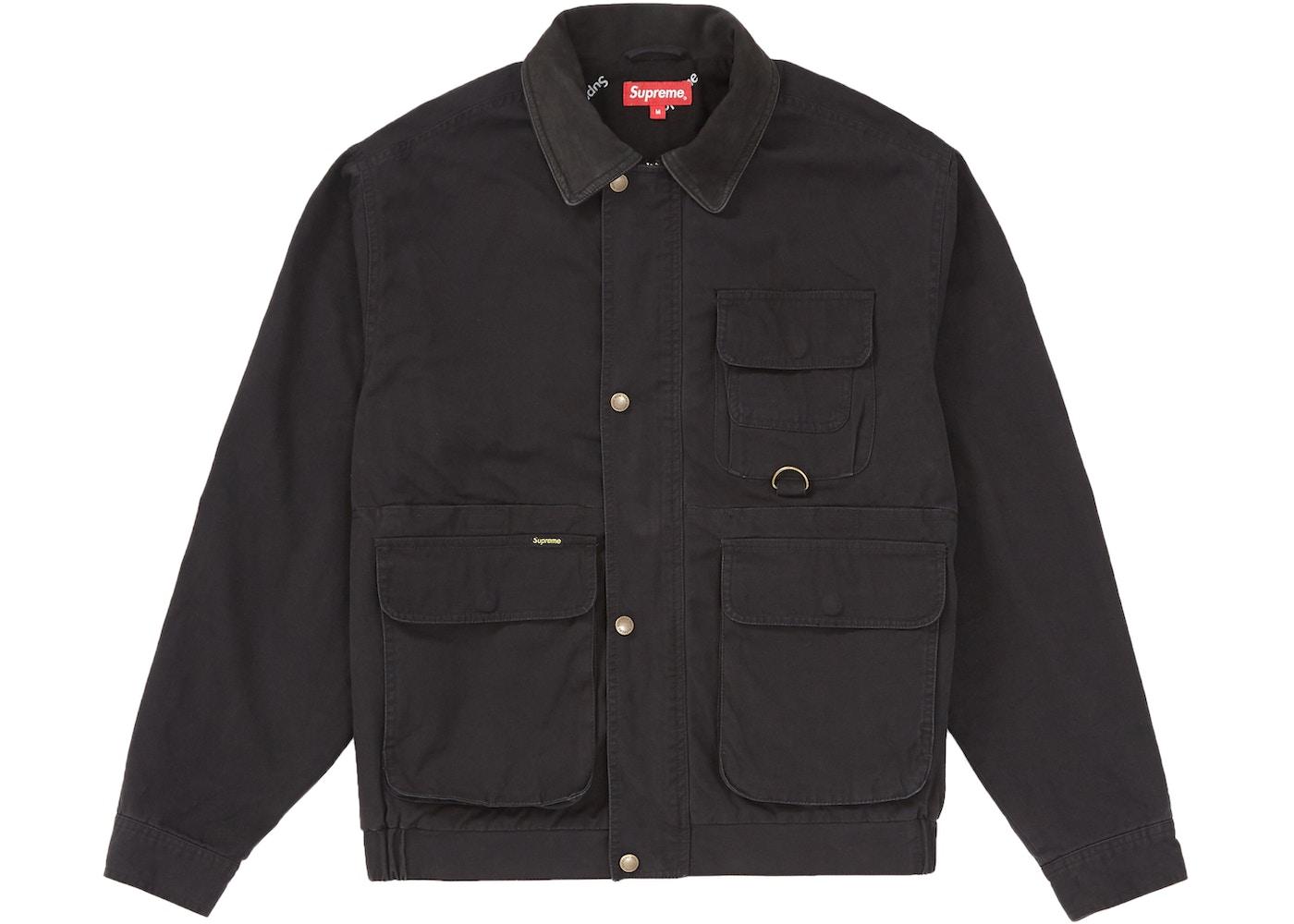 Supreme Field Jacket Black