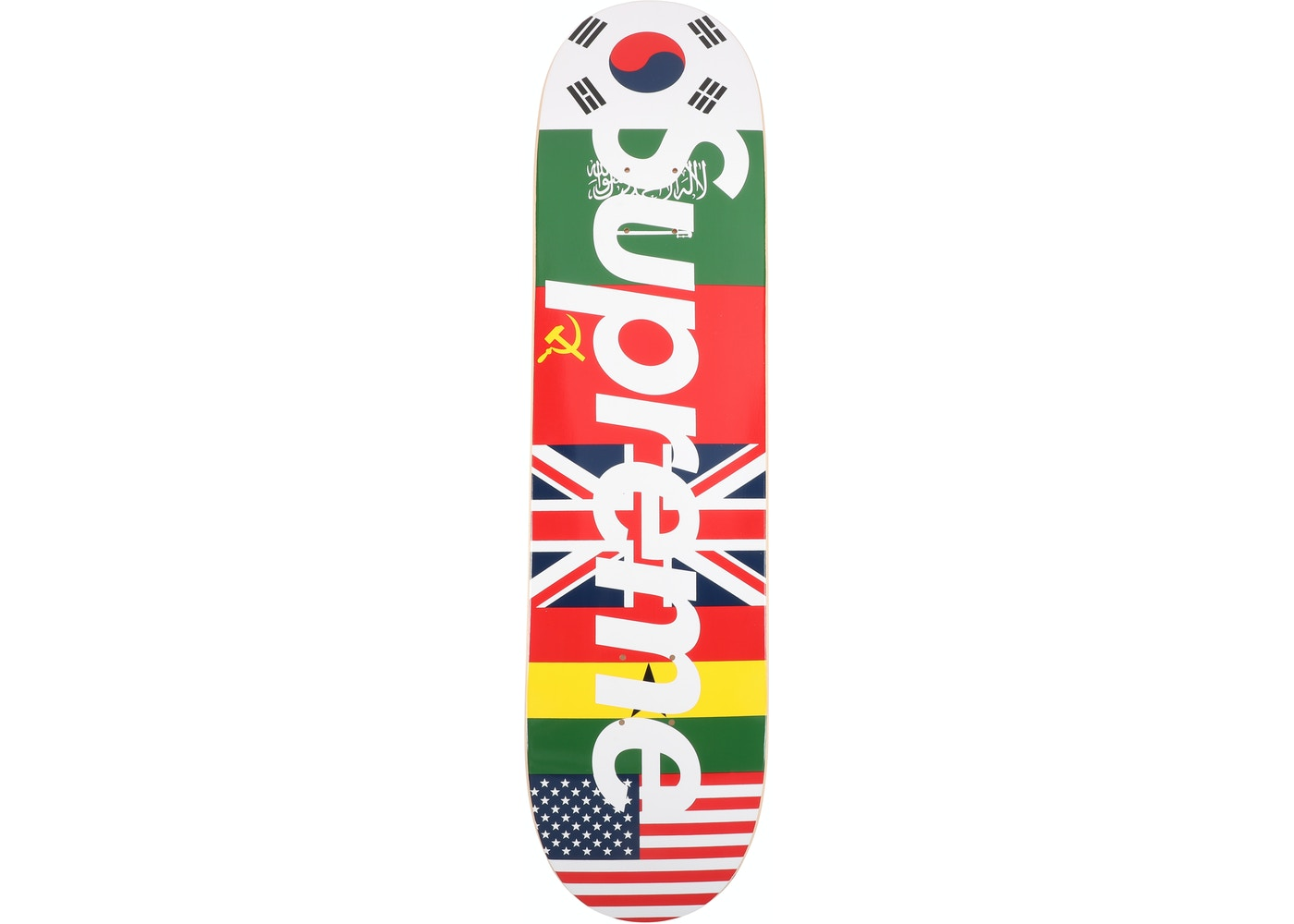 Supreme Flags Skateboard Deck Multi - FW13 7220ab0fd80