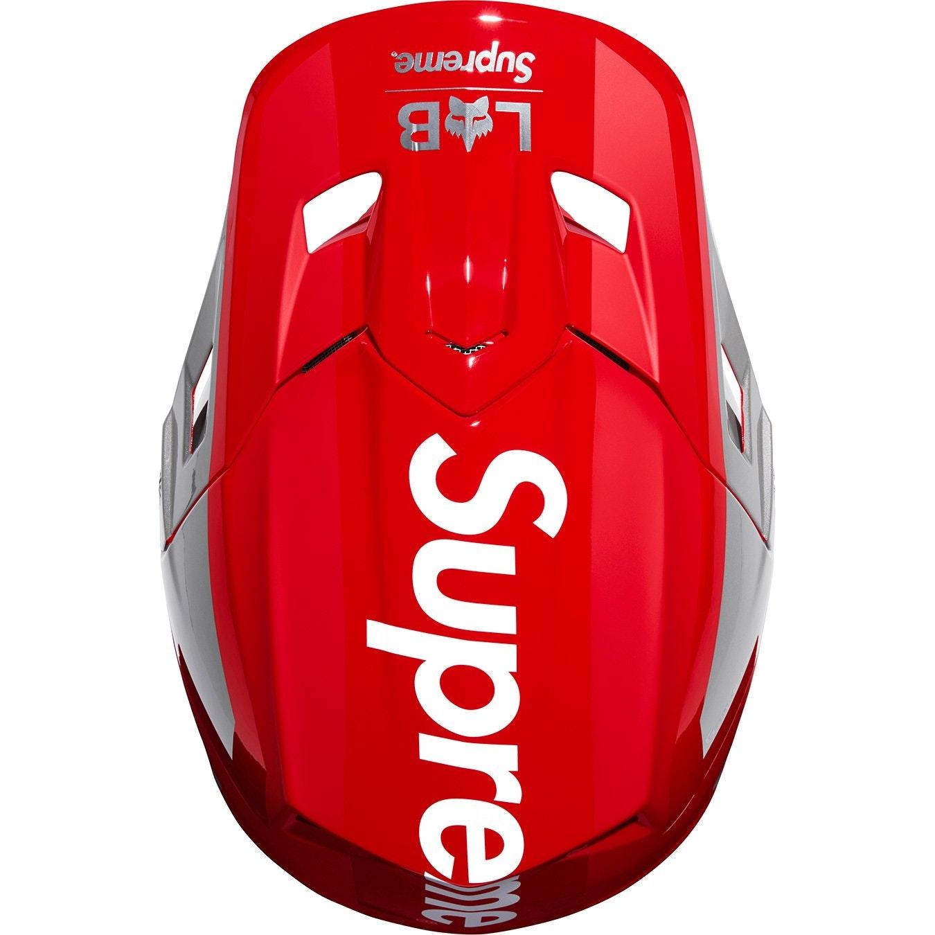 Supreme Fox Racing V2 Helmet Red