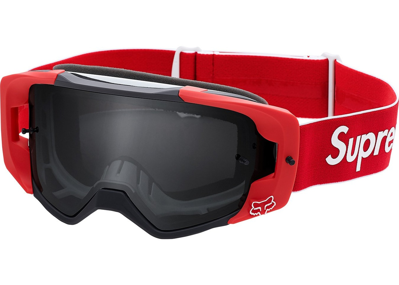 275b6f0d724a Supreme Fox Racing VUE Goggles Red - SS18