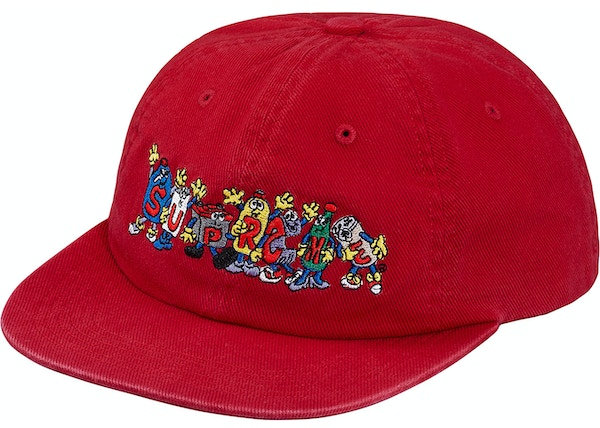 8836fb5a7f4 Supreme Friends 6-Panel Red - SS18