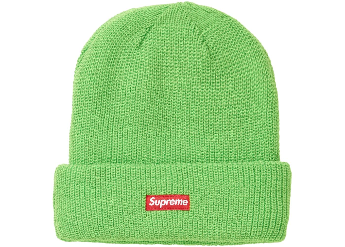 4d231e2899b31 Supreme GORE-TEX Beanie Lime - FW18
