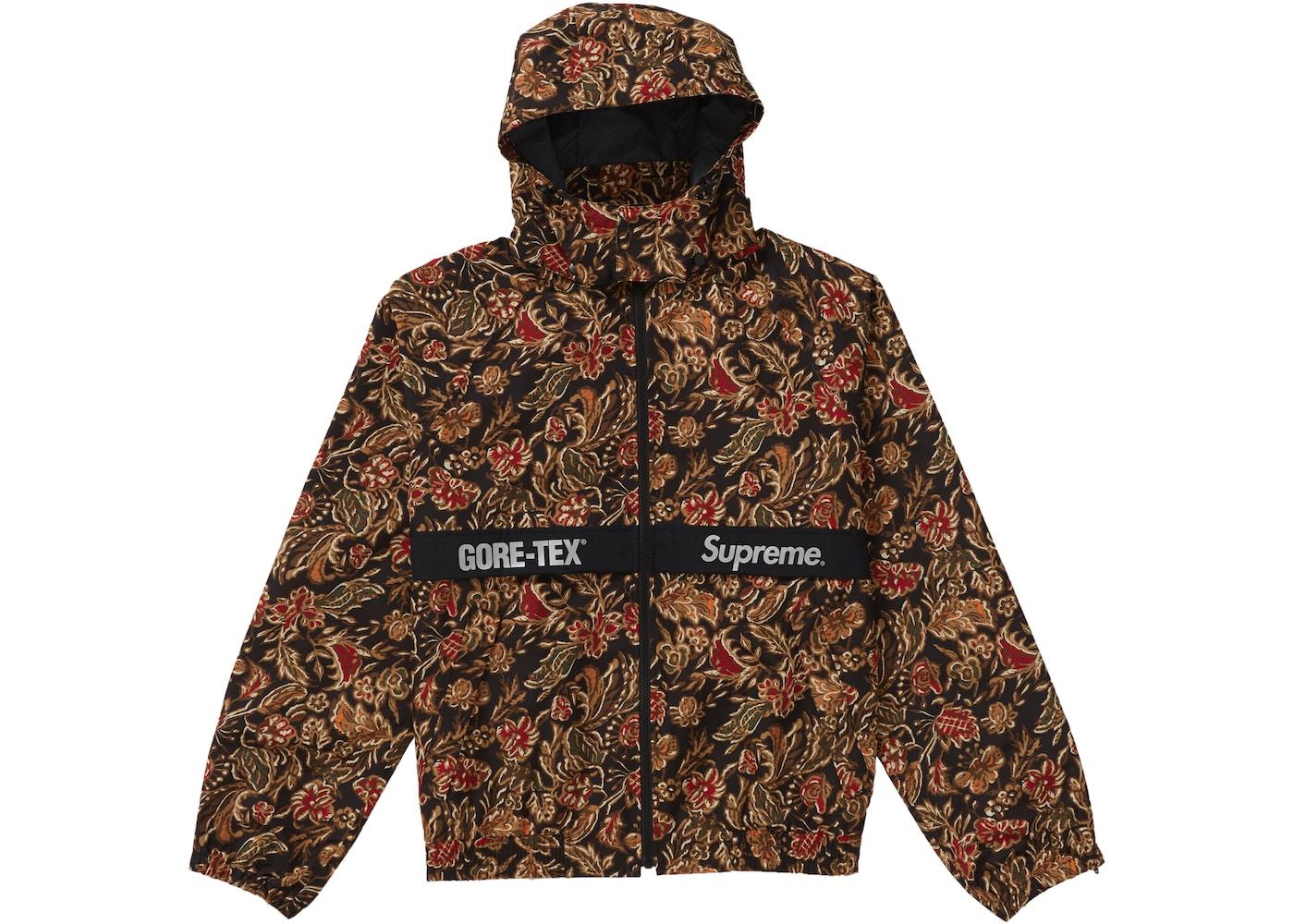 ac5309a5 Supreme GORE-TEX Court Jacket Flower Print - FW18