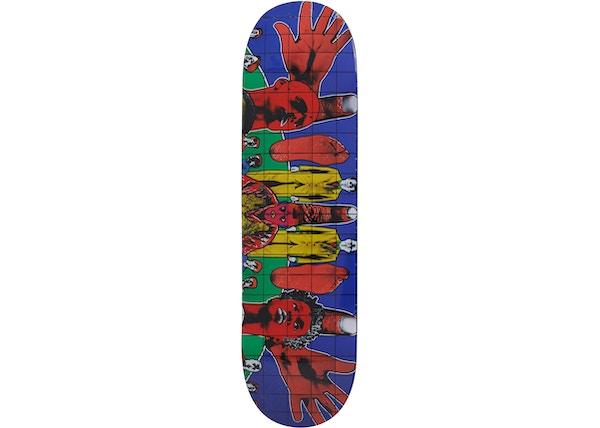5d8fd4be Supreme Gilbert & George DEATH AFTER LIFE Skateboard Deck Multi