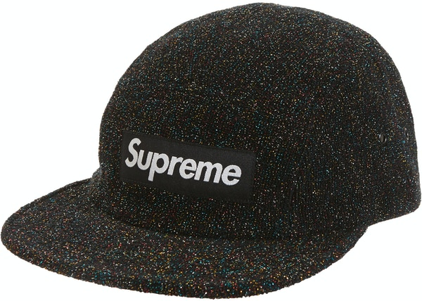 c1ef57c674194 Supreme Glitter Terry Camp Cap Multicolor