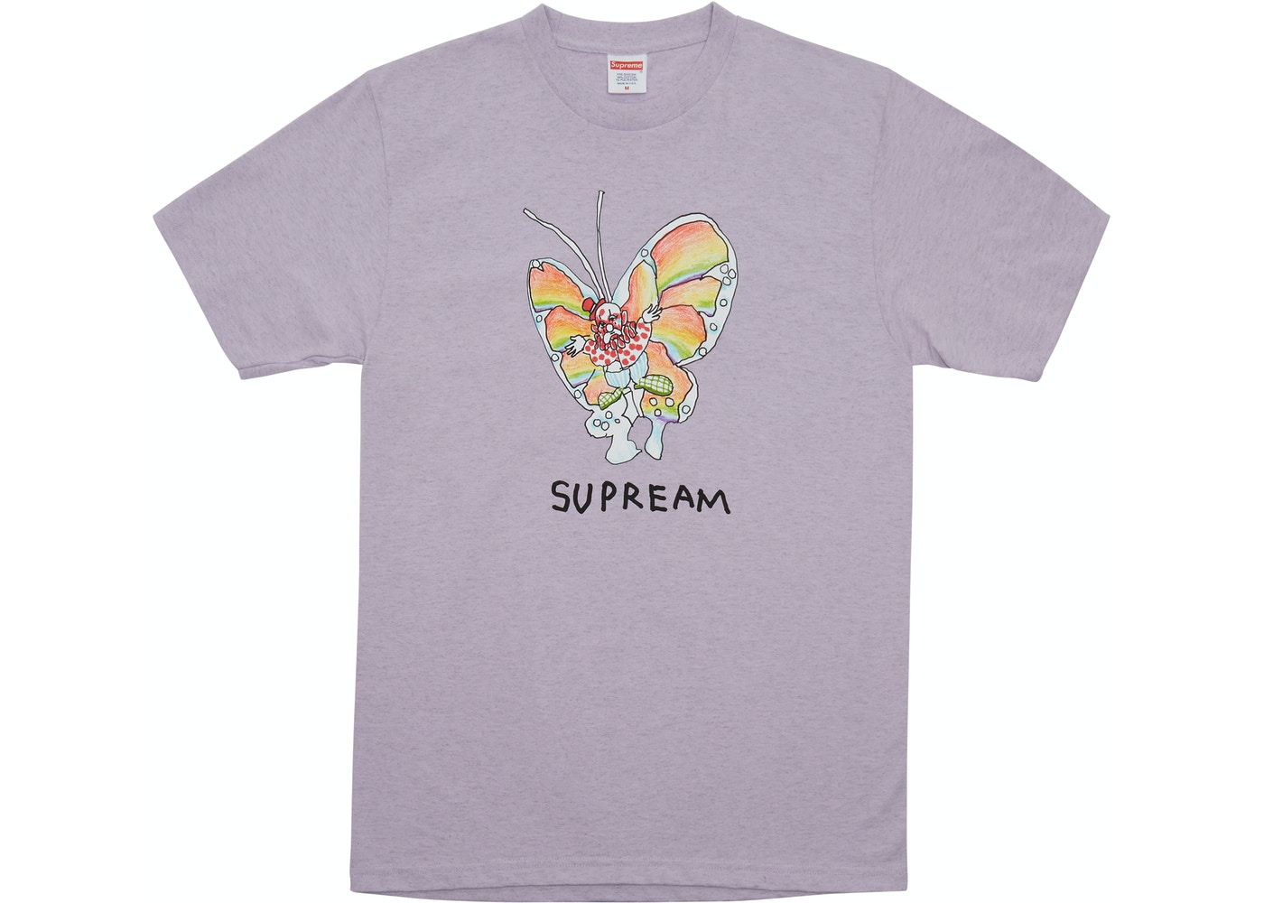 484e8d816 Sell. or Ask. Size M. View All Bids. Supreme Gonz Butterfly Tee Heather  Purple