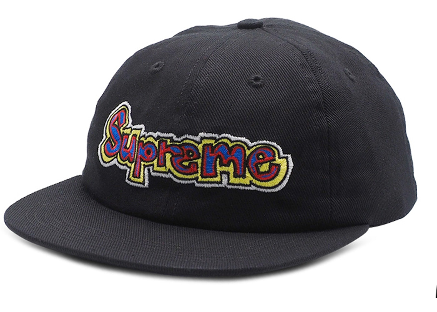 74b3606c Sell. or Ask. View All Bids. Supreme Gonz Logo 6-Panel Black
