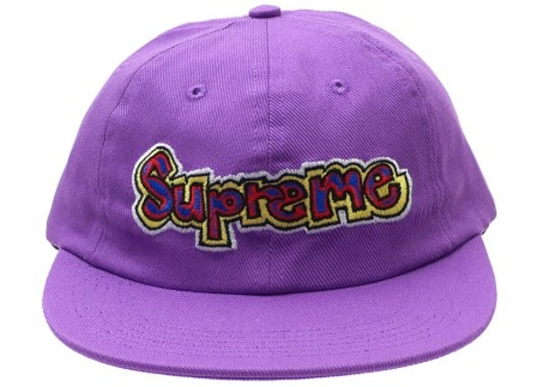 472650c5 Supreme Gonz Logo 6-Panel Purple - SS18