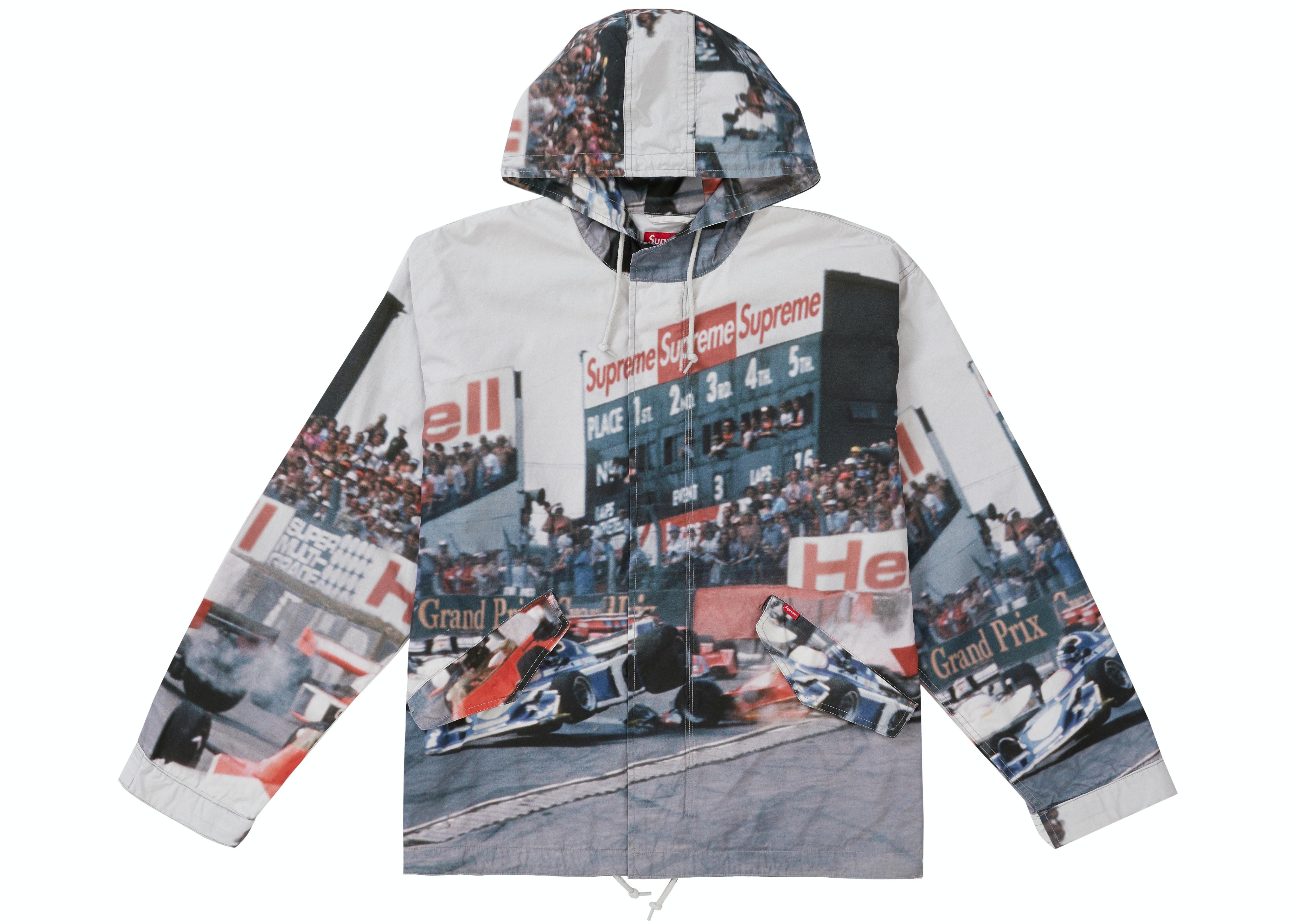 Supreme Grand Prix Parka Multicolor
