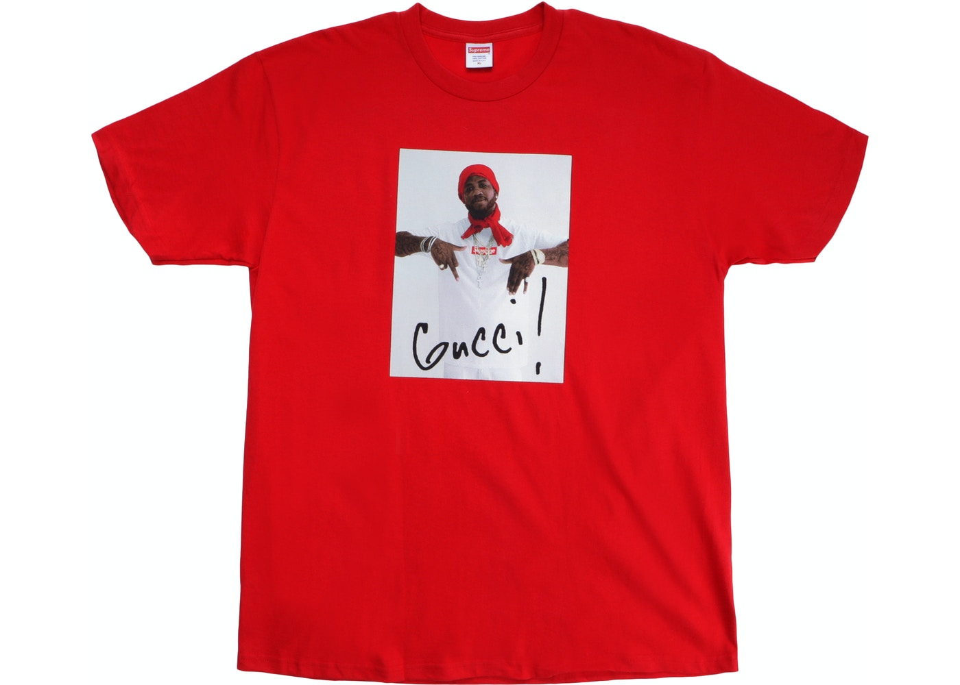 9134d89c Sell. or Ask. Size M. View All Bids. Supreme Gucci Mane Tee Red