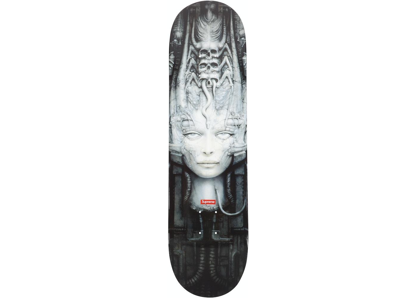 Or Ask View All Bids Supreme H R Giger Li Ii Skateboard Deck Multi