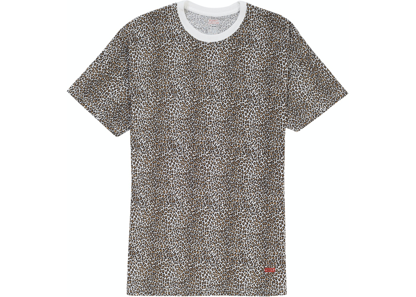 10000fe9 Supreme Hanes Leopard Tagless Tees (2 Pack) Leopard - SS19
