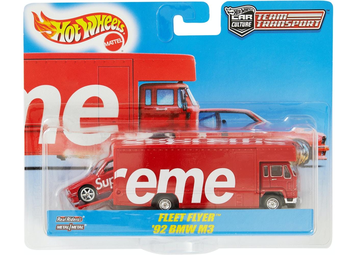 Supreme Hot Wheels Fleet Flyer 1992 Bmw M3 Red