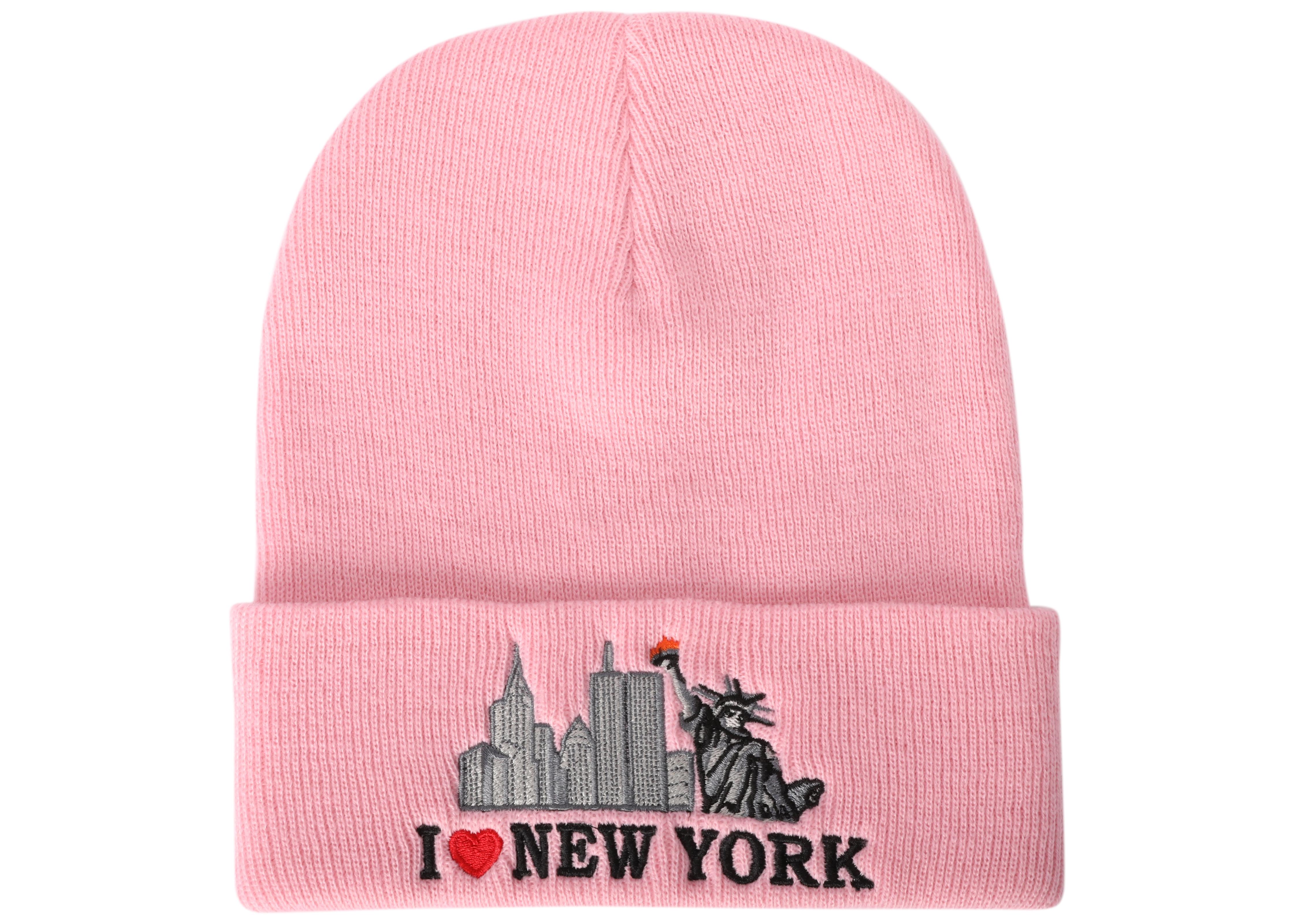 fd0dd1433e1 Sell or ask view all bids supreme i love beanie pink jpg 1400x1000 New york  supreme