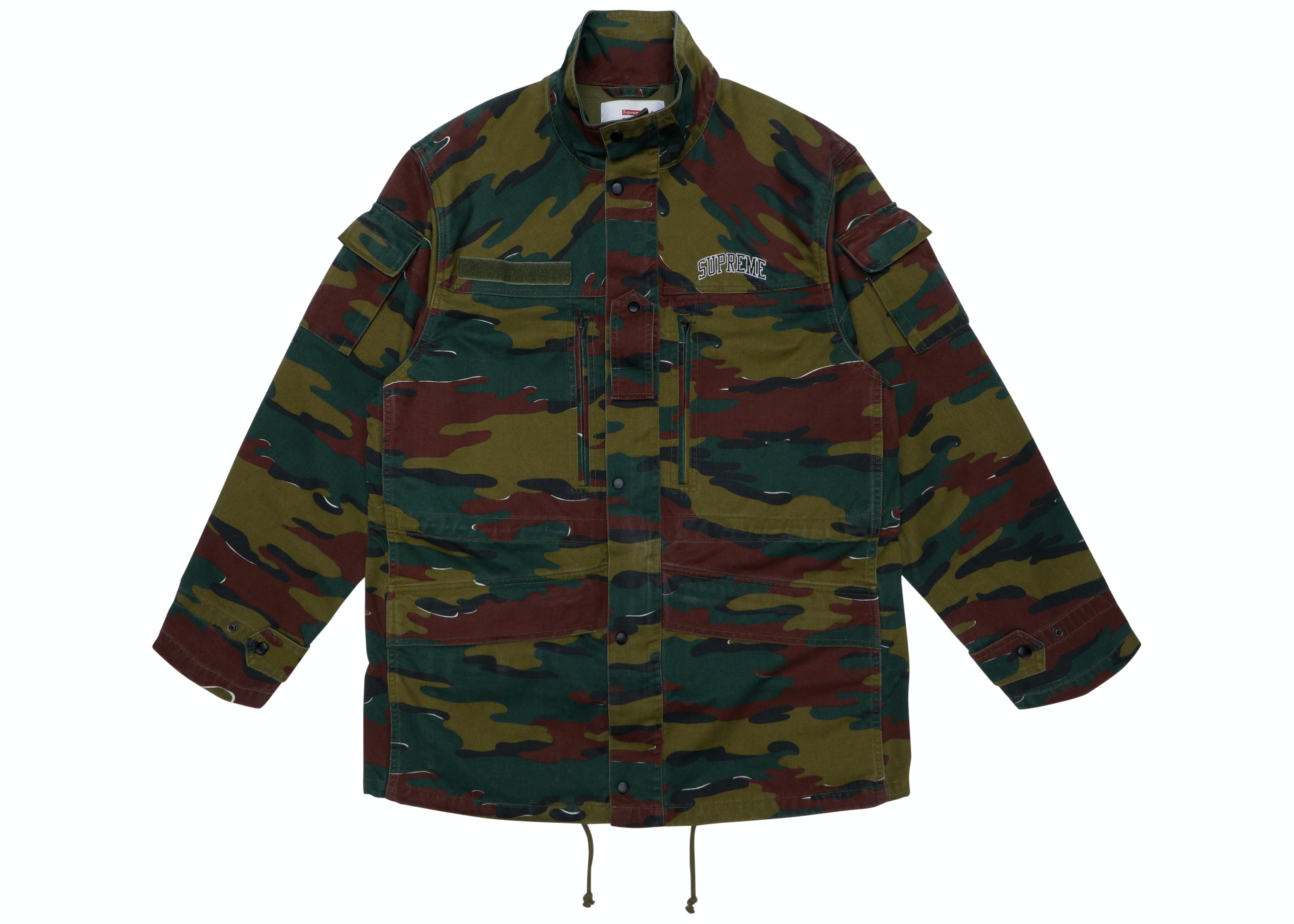 Supreme Infantry Jacket Jigsaw Camo