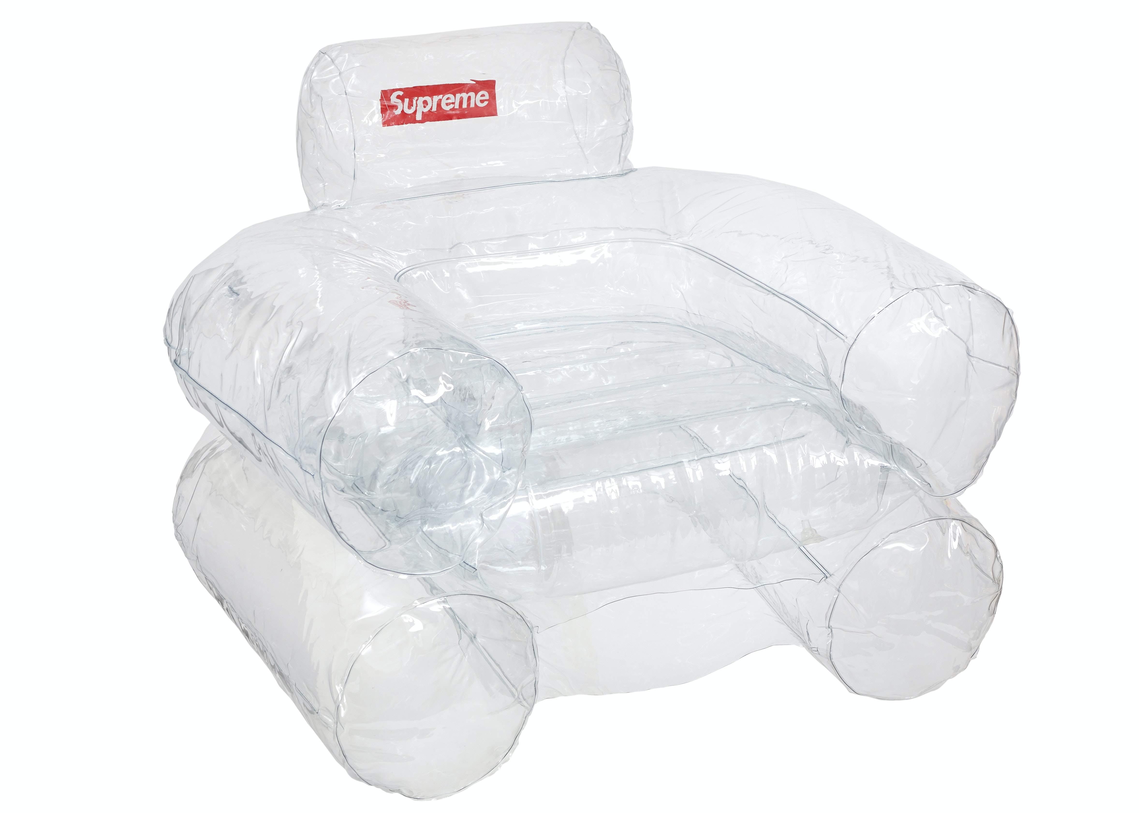 Supreme Inflatable Chair Clear   FW18