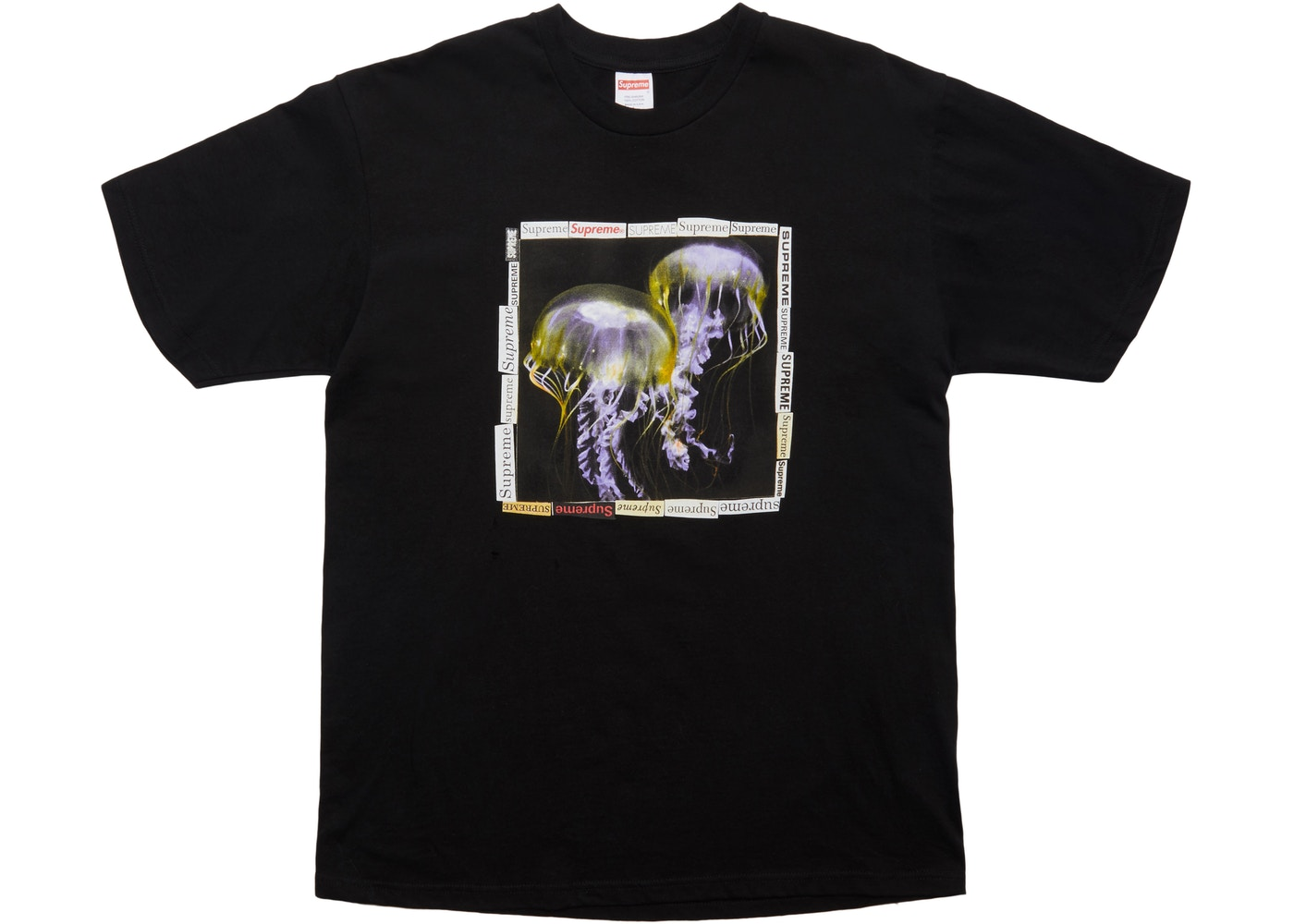 1078247ad7ea Sell. or Ask. Size: XL. View All Bids. Supreme Jellyfish Tee Black