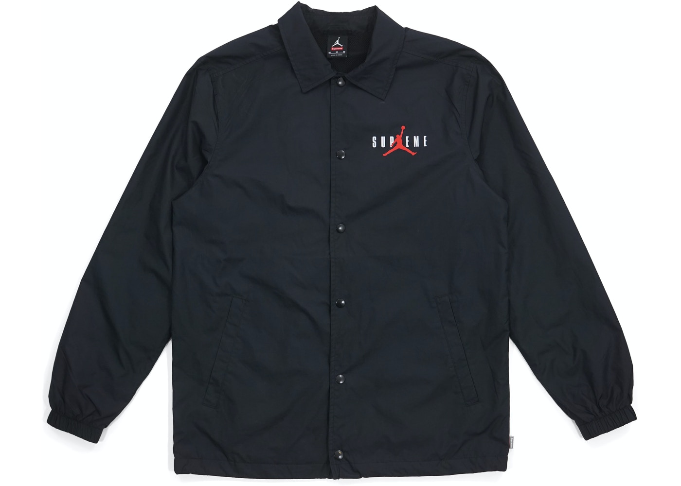 127be1d53be Sell. or Ask. Size L. View All Bids. Supreme Jordan Coaches Jacket Black