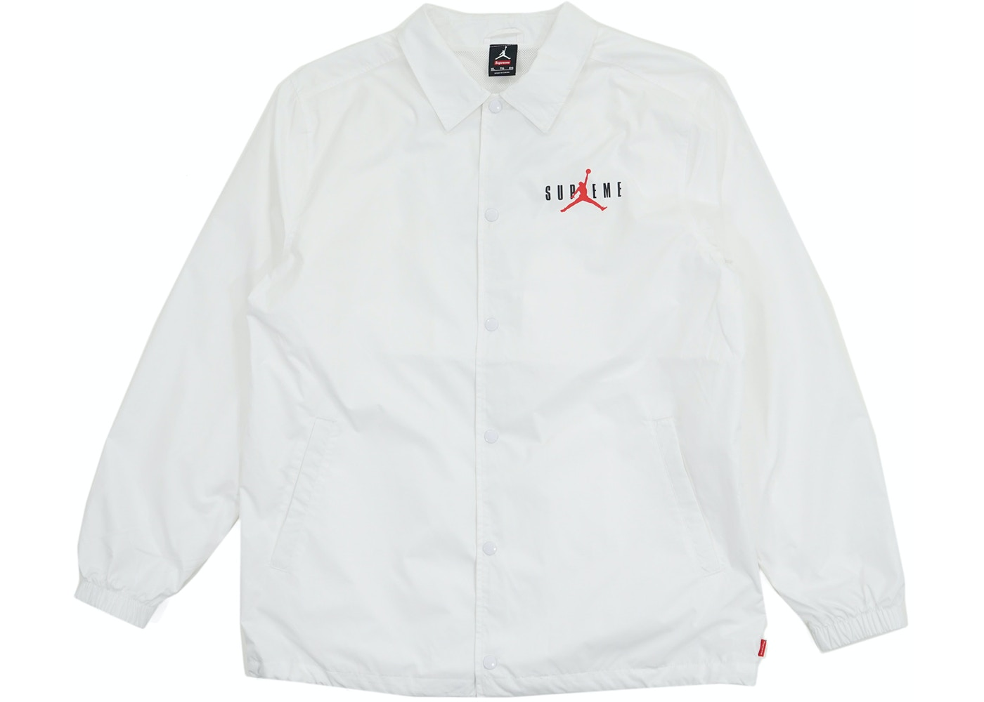 f27fdaaac66 Sell. or Ask. Size: XL. View All Bids. Supreme Jordan Coaches Jacket White