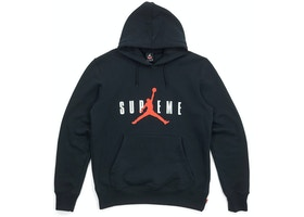 993dd0848a8 Supreme Jordan Hooded Pullover Black - FW15