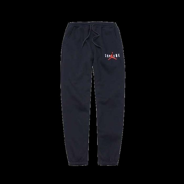 Supreme Jordan Sweatpant Black - FW15