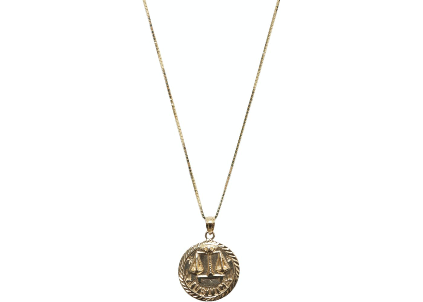 Justice Gold Pendant Gold