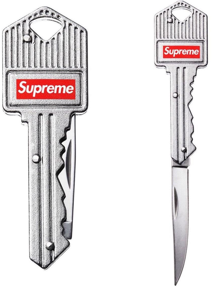 Supreme Key Knife Silver