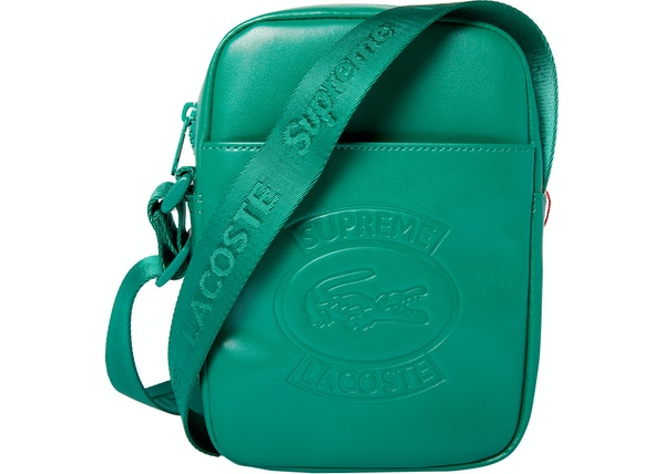 Supreme Lacoste Shoulder Bag Green
