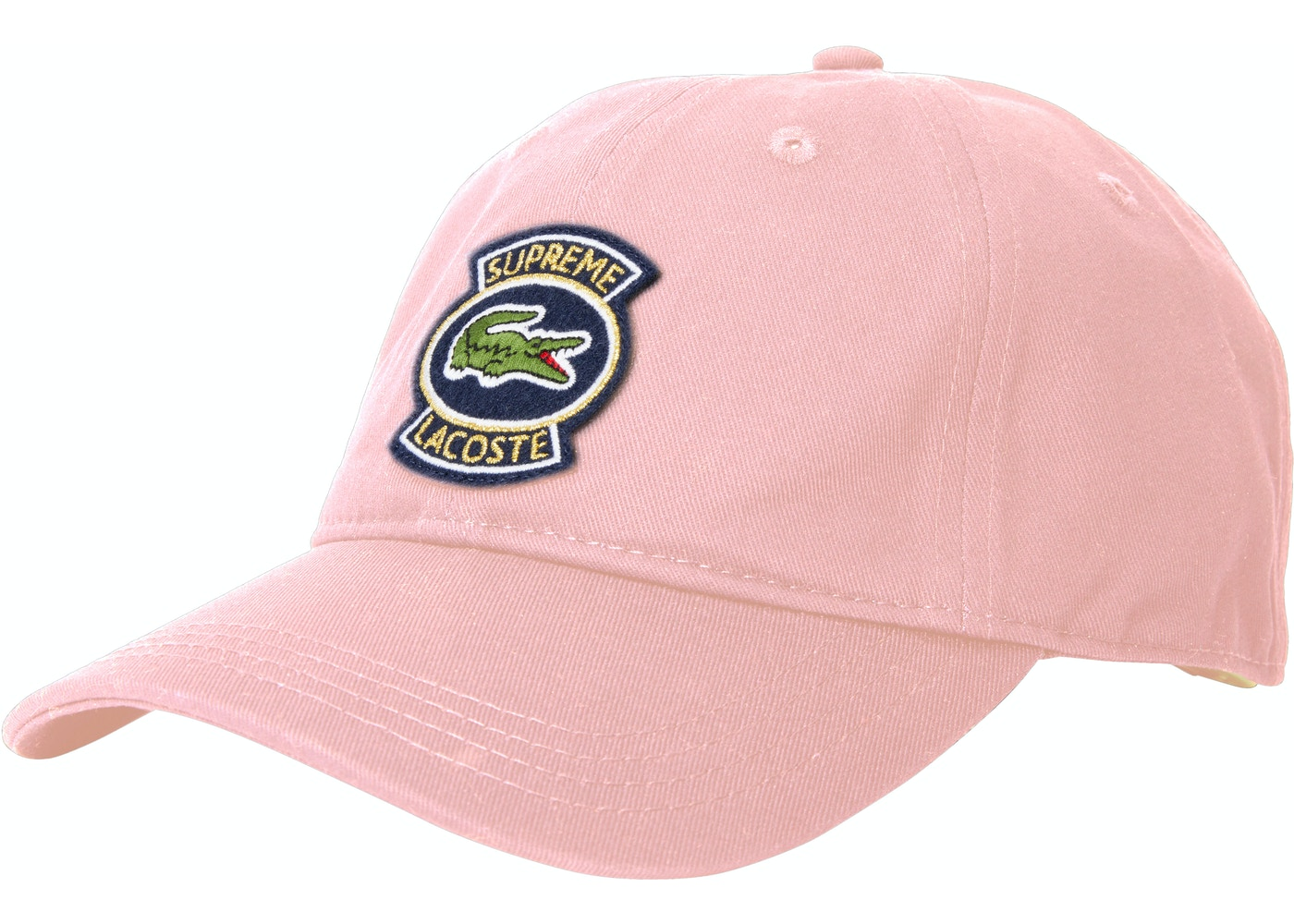 Sell. or Ask. View All Bids. Supreme LACOSTE Twill 6-Panel Pink 3aa8c4126969