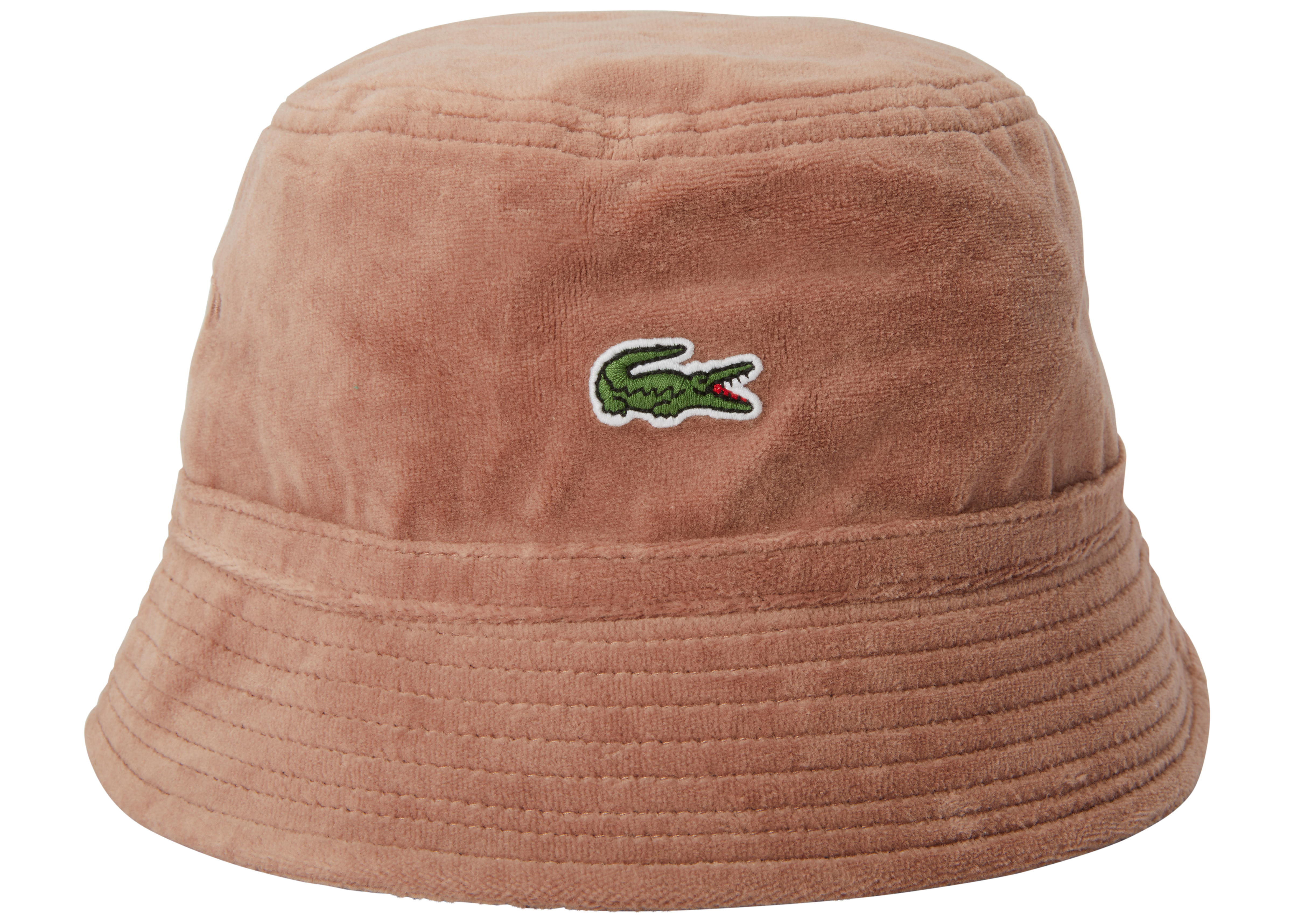 Supreme Lacoste Velour Crusher Teal M//L Bucket Camp Panel Hat Unisex