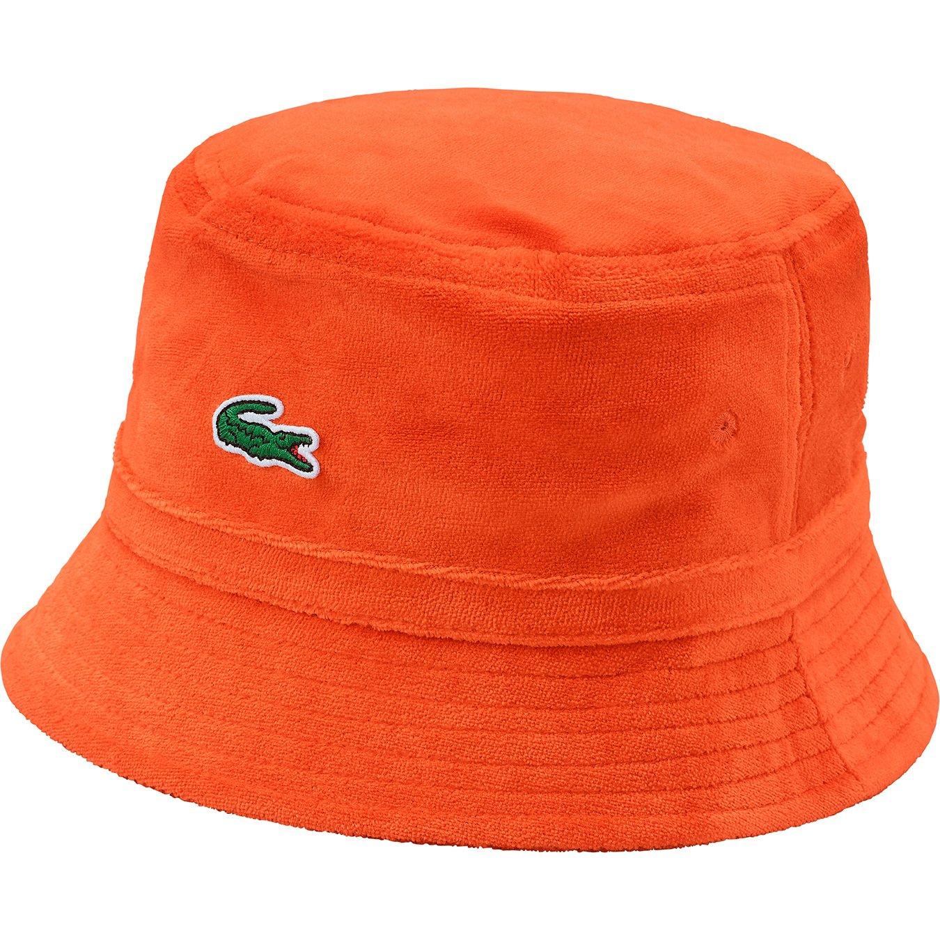 Supreme LACOSTE Velour Crusher Orange