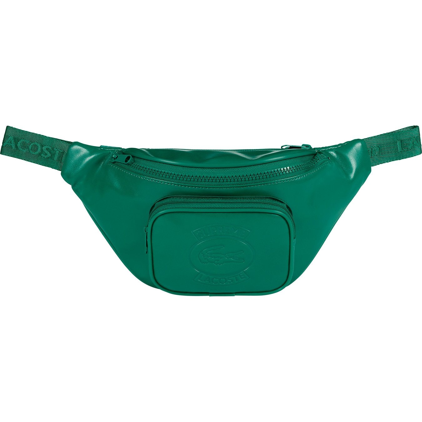 Supreme LACOSTE Waist Bag Green