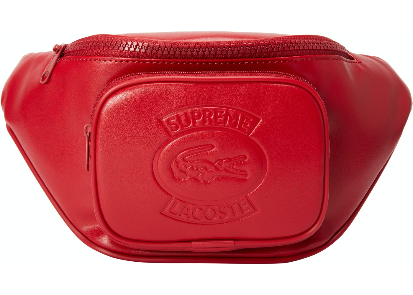 8d9731e35b92 Sell. or Ask. View All Bids. Supreme LACOSTE Waist Bag Red