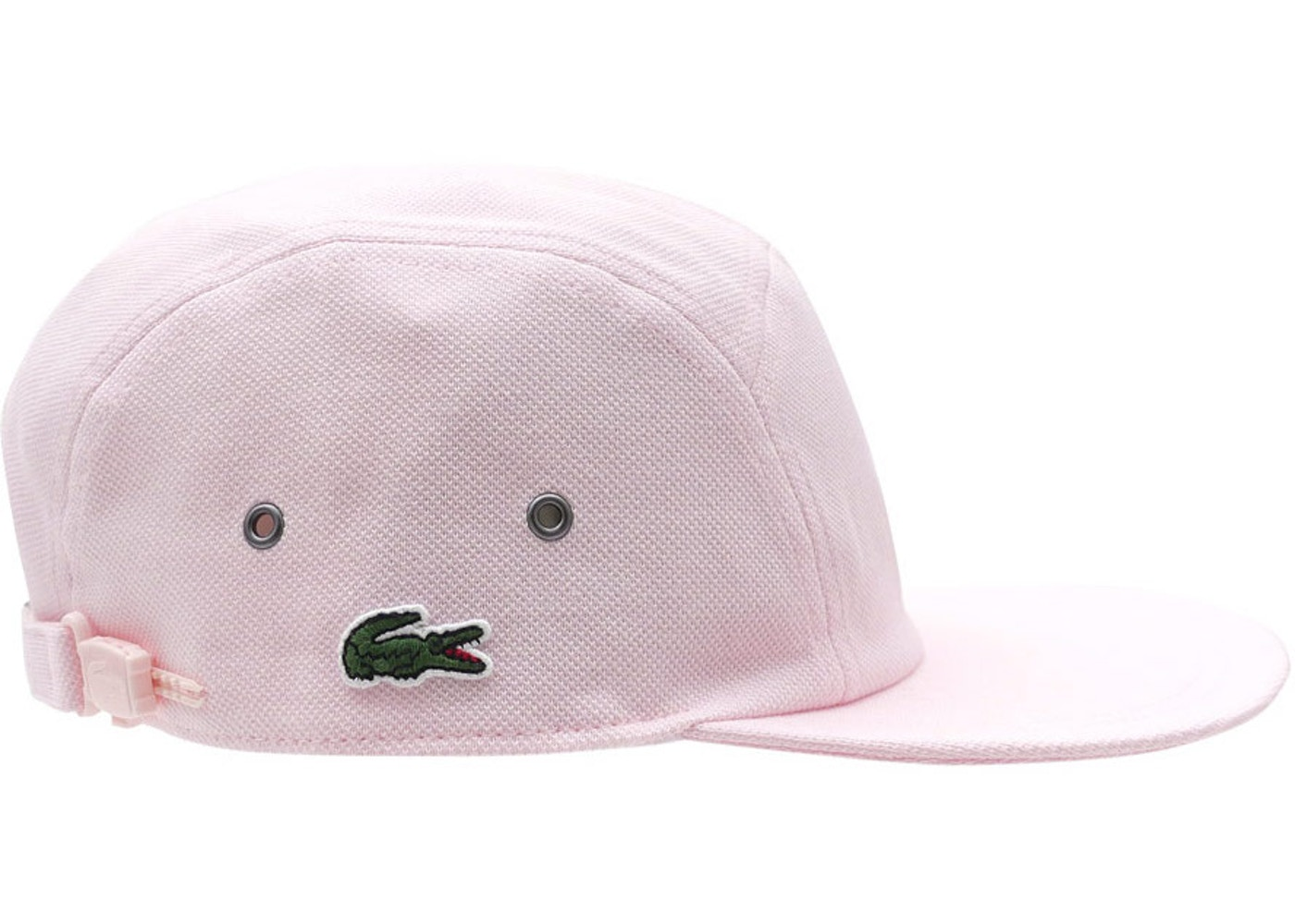 Supreme Lacoste Pique Knit Camp Cap Light Pink - SS17 51d87b18b3d