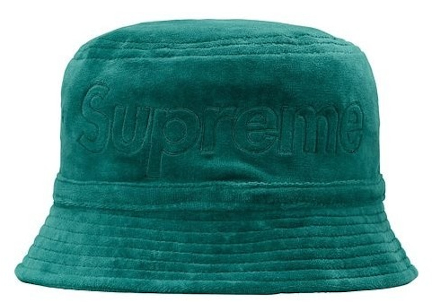 082567568 Supreme LACOSTE Velour Crusher Teal