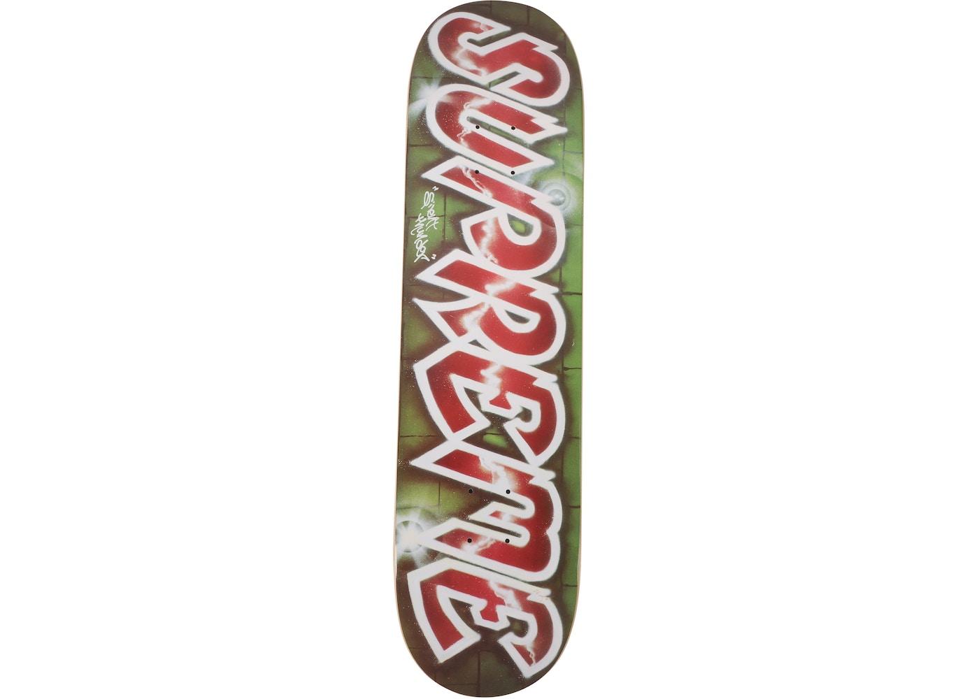 de83147bca0 Supreme Lee Quinones Lee Logo Skateboard Deck Red - SS18