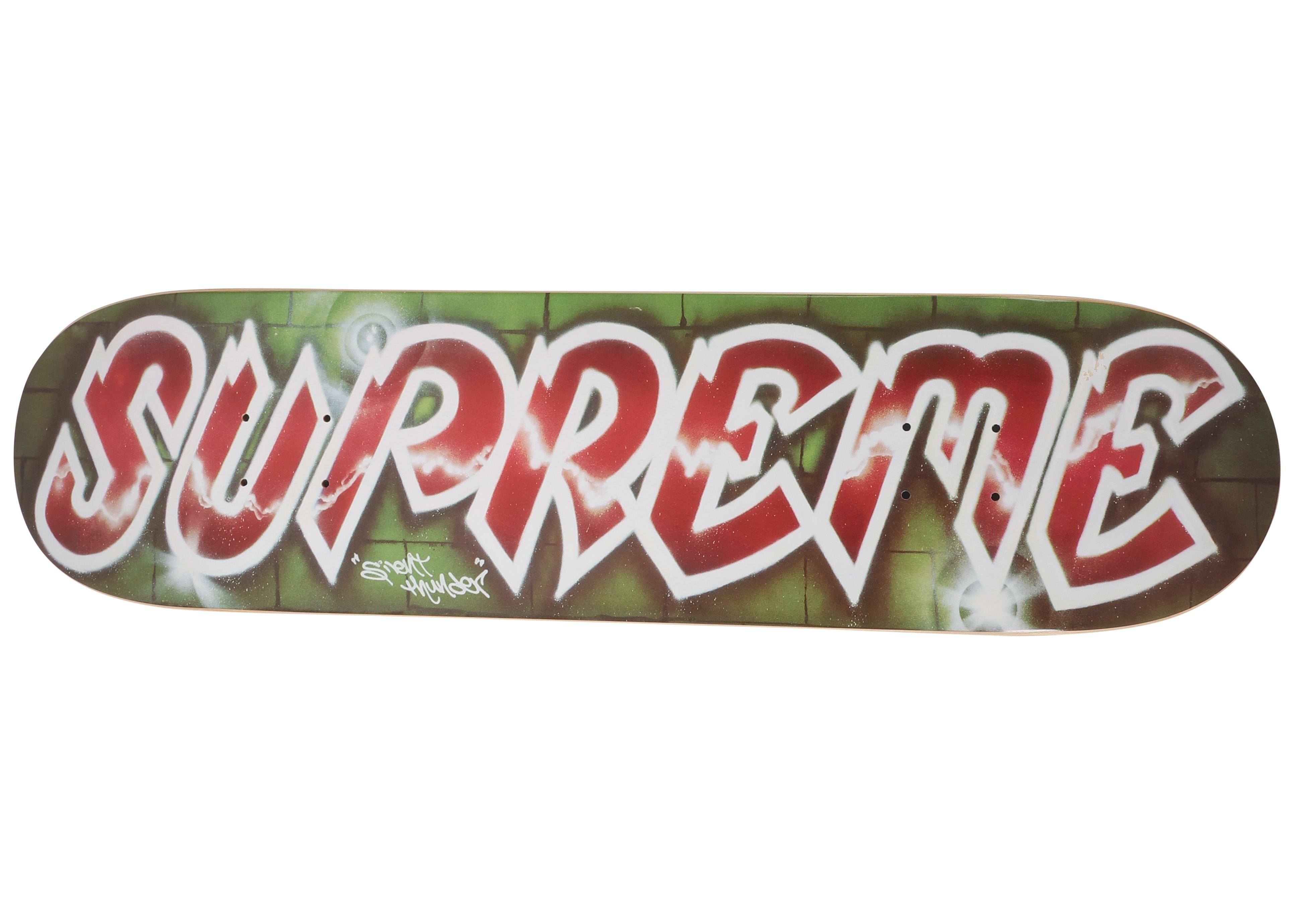 Supreme Lee Quinones Lee Logo Skateboard Red