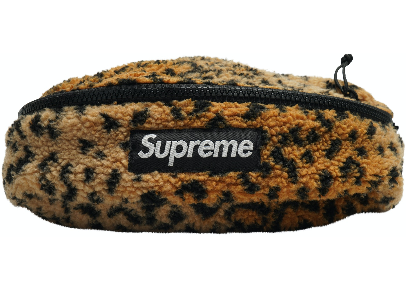 ebdb03d45db3 Sell. or Ask. View All Bids. Supreme Leopard Fleece Waist Bag Yellow