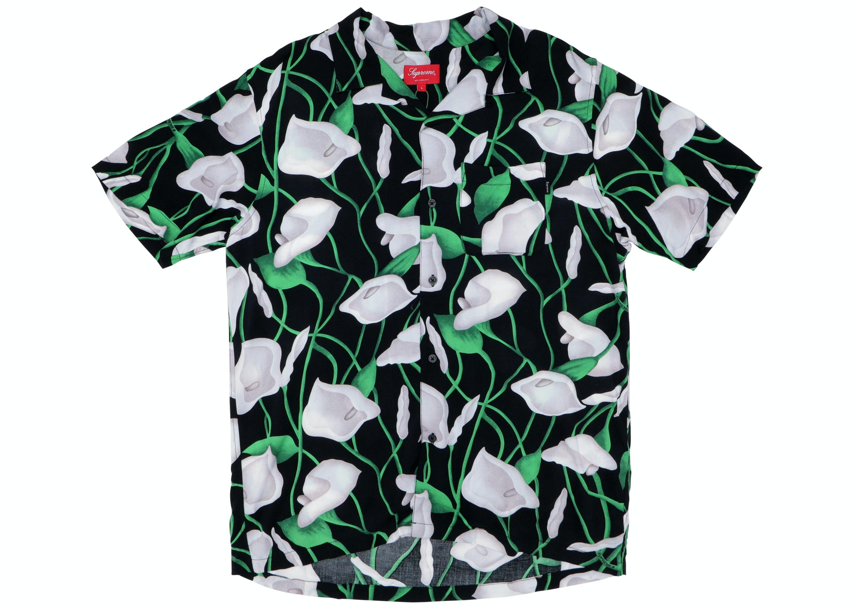 Supreme Lily Rayon Shirt Black