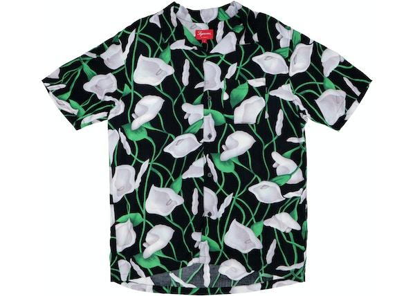 86cc89f2e6db Supreme Lily Rayon Shirt Black